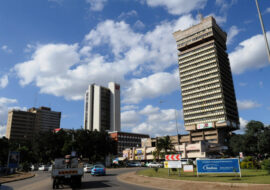 <p><strong>Lusaka</strong> is the capital and largest city of Zambia. It is one of the fastest developing cities in southern Africa. As of 2010, the city's population was about 1.7 million, while the urban population is estimated at 2.5 million in 2018. Lusaka is the centre of both commerce and government in Zambia and connects to the country's four main highways heading north, south, east and west. English is the official language of the city administration.</p>